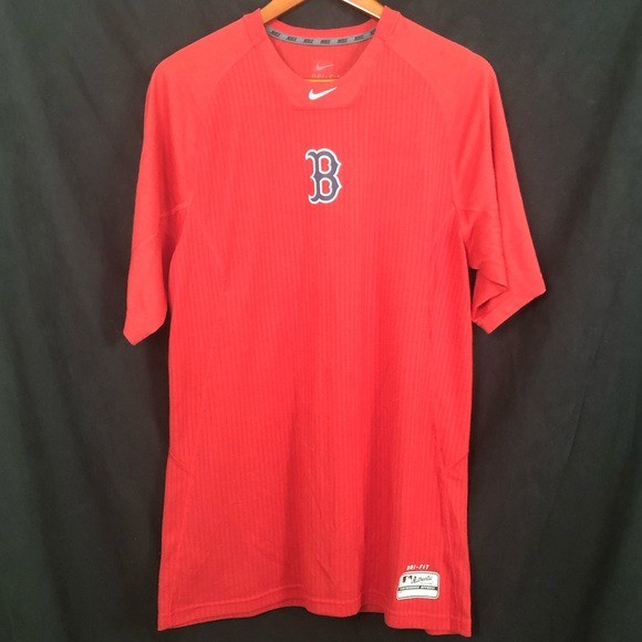 Nike | Boston MLB Dri-Fit Authentic Tshirt