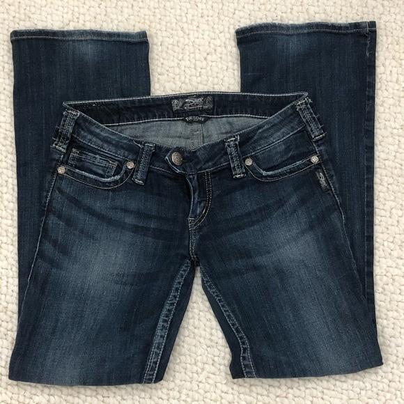 Silver Jeans   Tuesday Boot Cut Dark Wash